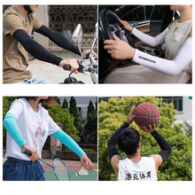 Load image into Gallery viewer, ROCKBROS Ice Fabric Breathable UV Protection Running Arm Sleeves