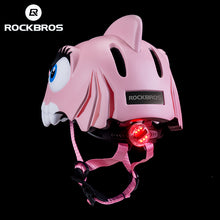 Load image into Gallery viewer, ROCKBROS Kids Cycling Light Helmet Integrally-molded Child Bike