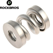 Load image into Gallery viewer, ROCKBROS MTB Bicycle Rear Shocks Titanium Bike Cycling Coil Spring Suspension