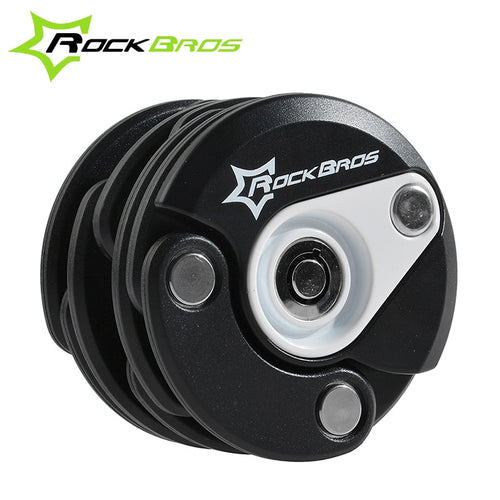 ROCKBROS MTB Road Bike Anti-Theft Mini Foldable Chain Lock