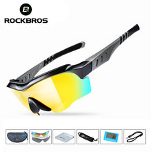 Load image into Gallery viewer, ROCKBROS Polarized Cycling Sunglasses UV400 Professional Cycling
