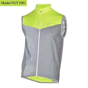 ROCKBROS Reflective Safety Vest Cycling Windproof