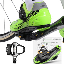 Load image into Gallery viewer, ROCKBROS SPD-SL Cycling Road Bike Bicycle Self-locking Pedals Ultralight