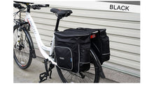 Load image into Gallery viewer, ROSWHEEL Bicycle Carrier Bag 30L Rear Rack Trunk Bike Luggage Back Seat