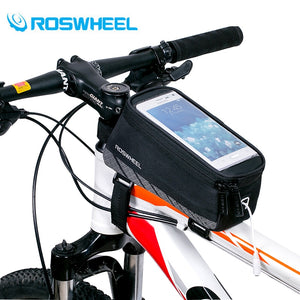 ROSWHEEL Cycling Bicycle Bike Cell Mobile Phone Front Frame