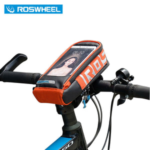 ROSWHEEL Handlebar Bag Outdoor Front Frame Bicycle Basket Pouch 111272