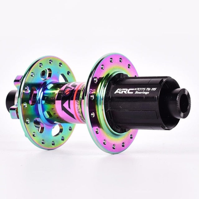 Rainbow ARC hub MTB mountain bike hub NBK bearing bicycle hubs 32 Holes