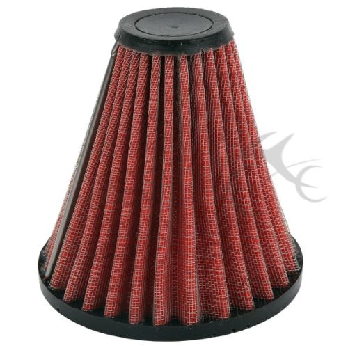 Red Colour Spike Air Cleaner Filter For Harley Honda