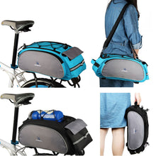 Load image into Gallery viewer, Roswheel Bicycle Bag Multifunction 13L Bike Tail Rear Bag Saddle Cycling