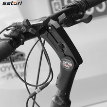 Load image into Gallery viewer, SATORI-EZ3 Riser Mountain Handlebars Forged stem 31.8mm adjustable height