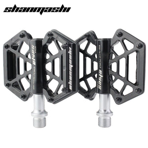 SMS Bicycle Pedal Spider Webs Bearing Pedal Magnesium Alloy Wide