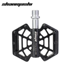 Load image into Gallery viewer, SMS Bicycle Pedal Spider Webs Bearing Pedal Magnesium Alloy Wide