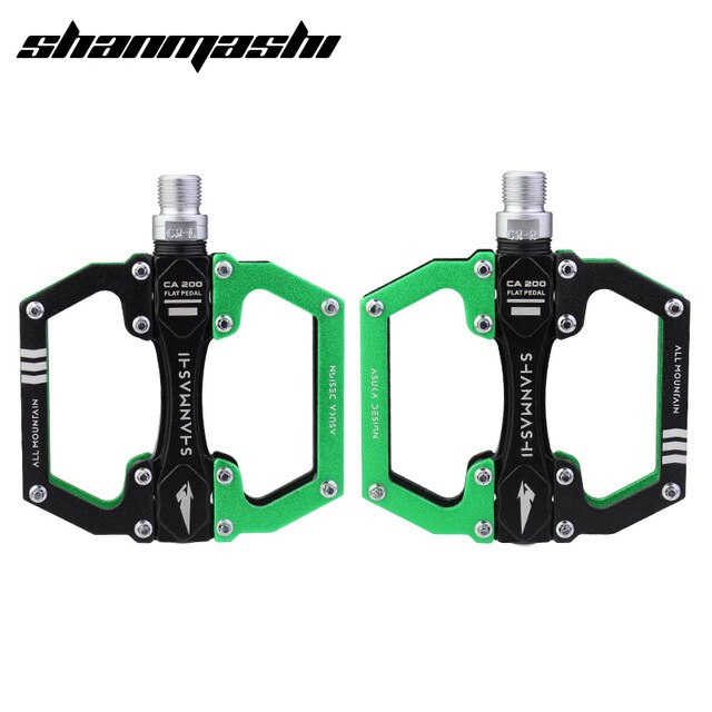 SMS Bicycle Pedals Aluminum Alloy MTB Road Bike Cycling Parts Non-slip