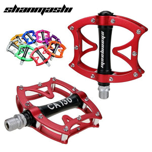 SMS Bicycle Pedals Road Bike MTB Foot Pedal Aluminum Alloy Pedal