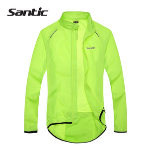 Santic Men Cycling Jacket UPF30+ Bicycle Bike Rain Jacket