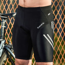 Load image into Gallery viewer, Santic Men Cycling Padded Shorts Coolmax 4D Pad