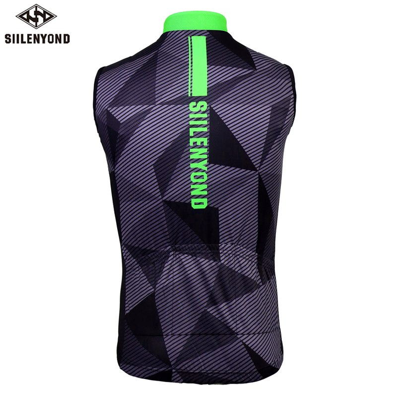 Vests Rockbros Reflective Cycling Sleeveless Jersey Outdoor Sporting Wind Vest Special Buy Men's Clothing