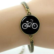 Load image into Gallery viewer, TAFREE Vintage Bicycle Bracelets Fashion Handmade