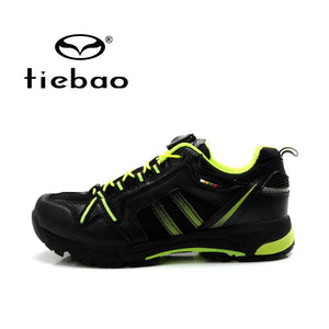 TIEBAO  Cycling Shoes Men Self-locking Bicycle Bike Cycling Shoe