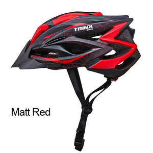 TRINX Cycling Ultralight Integrally-molded Helmet  Professional MTB