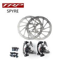 Load image into Gallery viewer, TRP Spyre road bike bicycle Alloy Mechanical Disc Brake Set