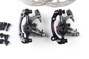 TRP Spyre road bike bicycle Alloy Mechanical Disc Brake Set