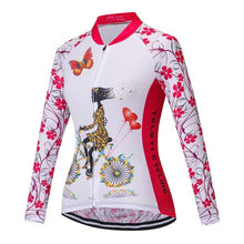 Load image into Gallery viewer, Teleyi Spring/Autumn 100% Polyester Cycling Jersey Long Sleeve