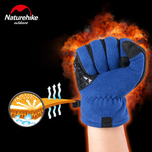 Touch Screen Full Finger Bike Bicycle Gloves For Men Women Winter