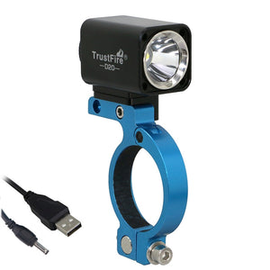 USB Bicycle Light * L2 Led Trustfire D20 Cycling Mount Bracket Extend Holder