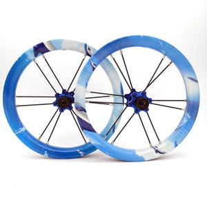 Ultra Light 12 inches 84 94mm Children Slide Bike Wheel Custom Balance