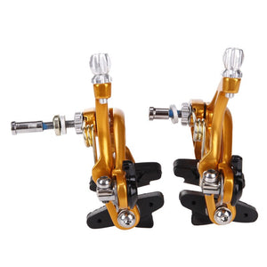 COLD FORGED ALUMINUM DUAL PIVOT BICYCLE BRAKE CALIPER