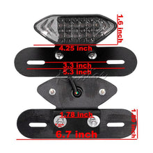 Load image into Gallery viewer, Universal LED Brake Tail Light Turn Signal Blinkers Integrated Lamp
