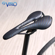 Load image into Gallery viewer, Velo Brand Bike Saddle For Racing Ti-Alloy Gel Bicycle Saddle Lightweight