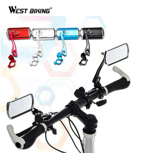 WEST BIKING 1Pair Bike Bicycle Rear View Mirror Cycling Aluminium