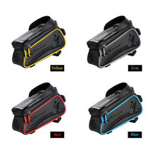 Load image into Gallery viewer, WEST BIKING Bicycle Bag Cycling Top Front Tube Frame Bag