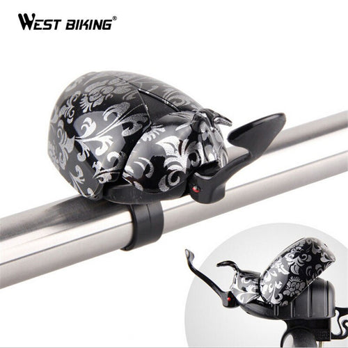 WEST BIKING Bicycle Bell Cycling Alarm Ring MTB Horn Up To Bike