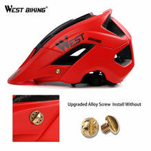 Load image into Gallery viewer, WEST BIKING Bicycle Helmet Trail XC MTB All-terrain Bike Helmet