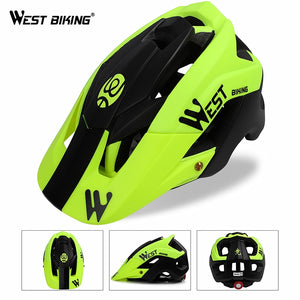 WEST BIKING Bicycle Helmet Trail XC MTB All-terrain Bike Helmet