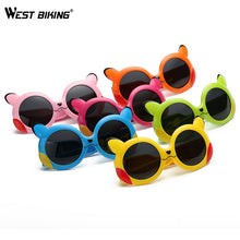 Load image into Gallery viewer, WEST BIKING Children's Polarized Sunglasses Ultra-soft Silicone  Kids Cycling