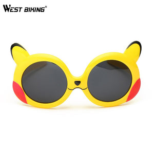WEST BIKING Children's Polarized Sunglasses Ultra-soft Silicone  Kids Cycling