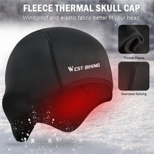 Load image into Gallery viewer, WEST BIKING Cycling Caps Winter Thermal Fleece