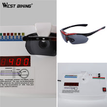Load image into Gallery viewer, WEST BIKING Cycling Glasses Men Sports Cycling Sunglasses