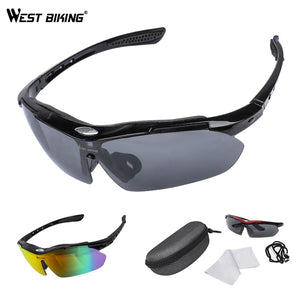WEST BIKING Cycling Glasses Men Sports Cycling Sunglasses