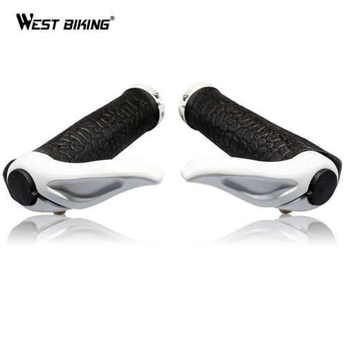 WEST BIKING Ergonomic Bike Grips Handle Bar End Mountain Cycle