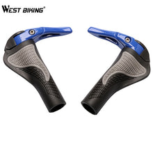 Load image into Gallery viewer, WEST BIKING MTB Bike Grips Anti-Skid Ergonomic Bicycle Grips Bike Bar ends