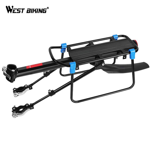 WEST BIKING MTB Bike Luggage Carrier Aluminum Bicycle Cargo Racks for 20-29 inch