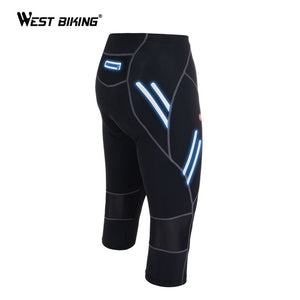 WEST BIKING Men's Cycle Pant Bicycle Bike Tights Riding Bike Outdoor Sport Reflective