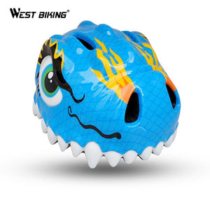 WEST BIKING PC Kids Bicycle Cycling Helmet Cartoon Skate Helmet Bike