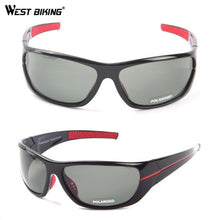 Load image into Gallery viewer, WEST BIKING Polarized Bicycle Glasses Men Sports Cycling Glasses Bike