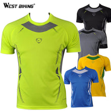 Load image into Gallery viewer, WEST BIKING Quality Men Bike Running Cycling Jerseys
